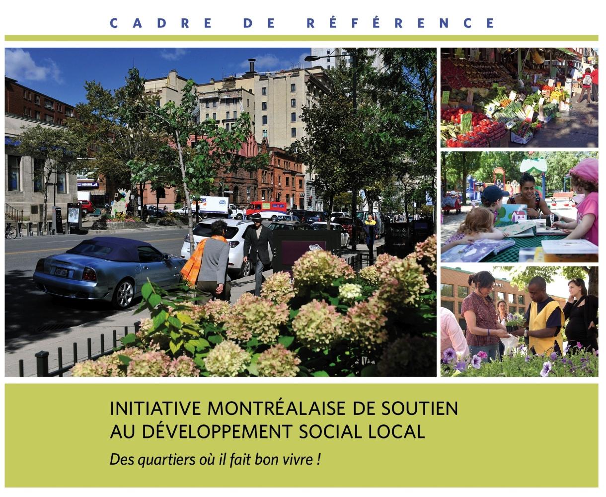 Initiative montréalaise - cadre de référence