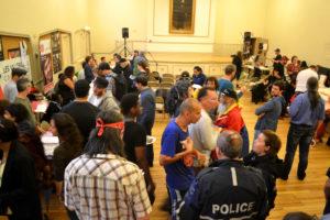 La Table interaction du quartier Peter-McGill a organisé en juin 2014 et en septembre 2015, deux Forums consécutifs sur l'Itinérance au centre-ville de Montréal