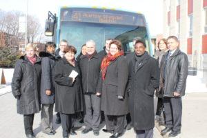 Lancement de la ligne d'autobus 41, après plusieurs années de travail, la STM a accepté de mettre en place cette ligne d'autobus dont l'itinéraire facilite grandement les déplacements dans le quartier.