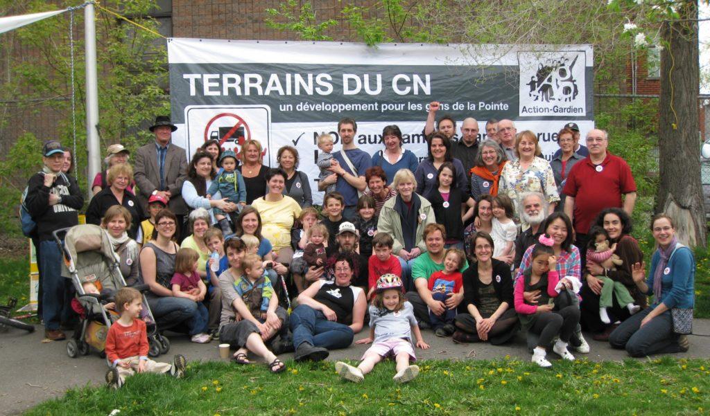 MObilisation pour que les anciens ateliers du Canadien National se développent en réponse aux besoins locaux