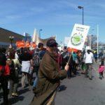 Manifestation dans le cadre de Mobilisation Turcot