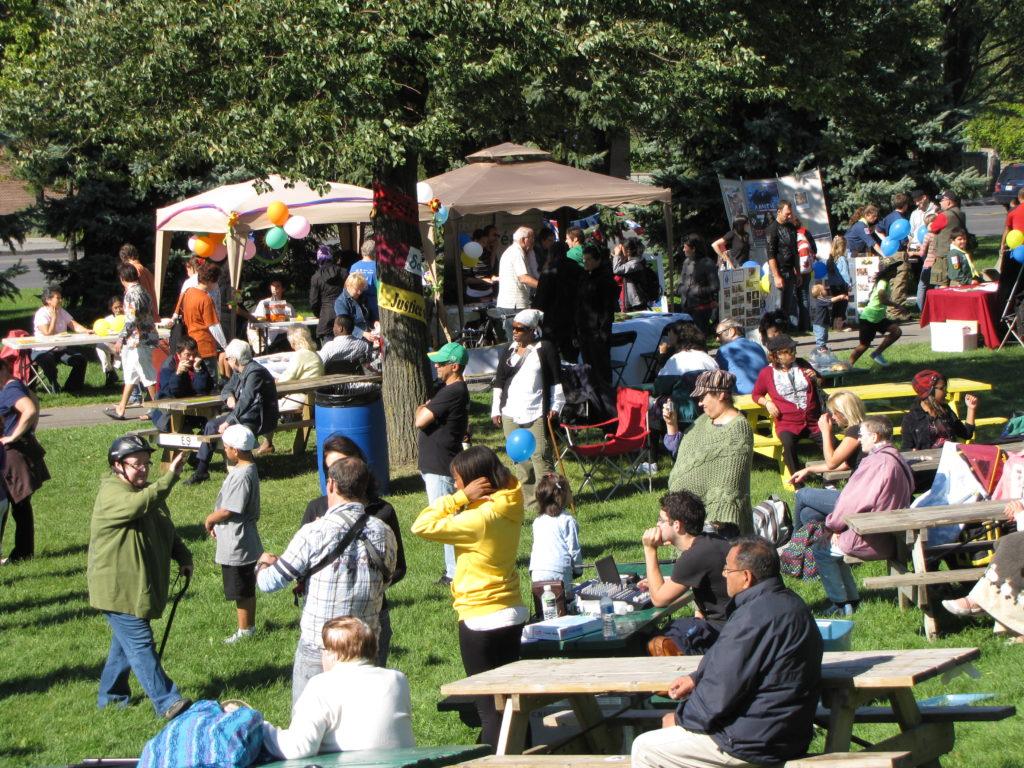 La Fête populaire de la rentrée a lieu chaque année depuis 1999 !