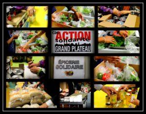 L'Épicerie solidaire, l'un des projets mené entre autres par la ASGP
