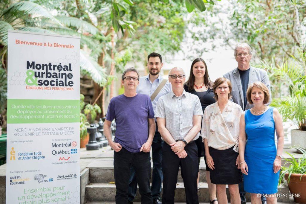 Biennale Montréal urbaine et social 2017 comité organisateur