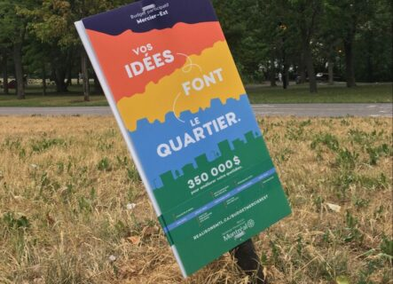 Participation citoyenne et Covid-19 : comment Solidarité Mercier-Est mobilise les citoyen·nes pour le budget participatif de l'Arrondissement